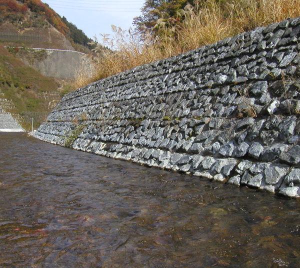 自然石埋込み緑化タイプ